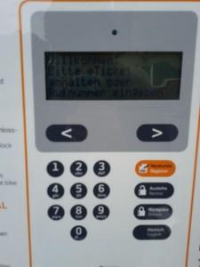 Display des RFID-Lesers