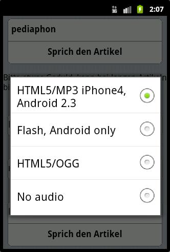 Screenshot 3 Pediaphon iWebkit auf Android
